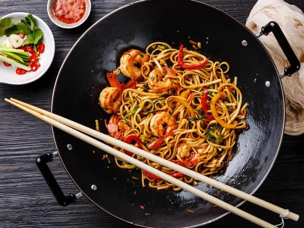 Phad Kee Mao • Drunken Noodles